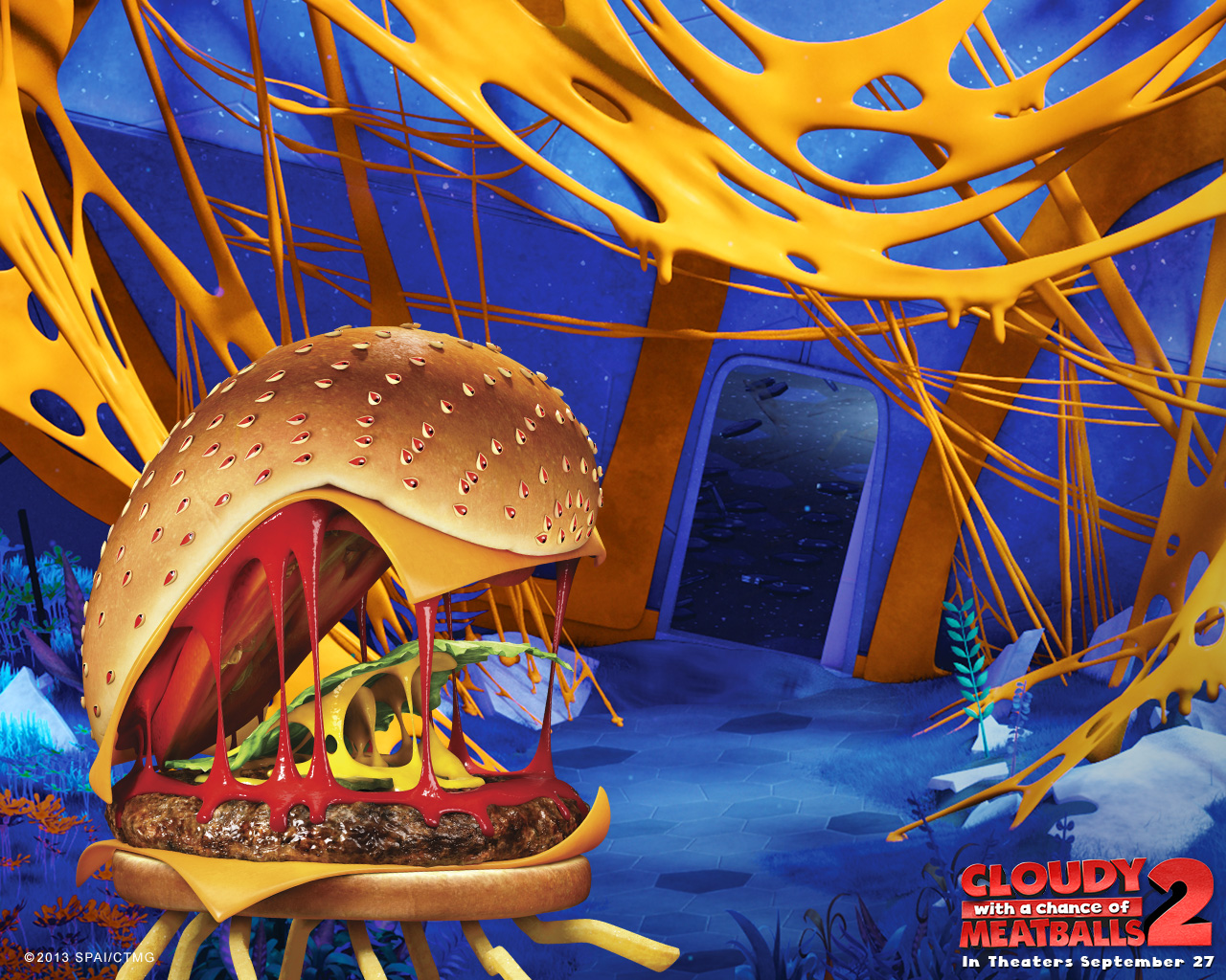 Image From Cloudy With A Chance Of Meatballs 2 Official Site