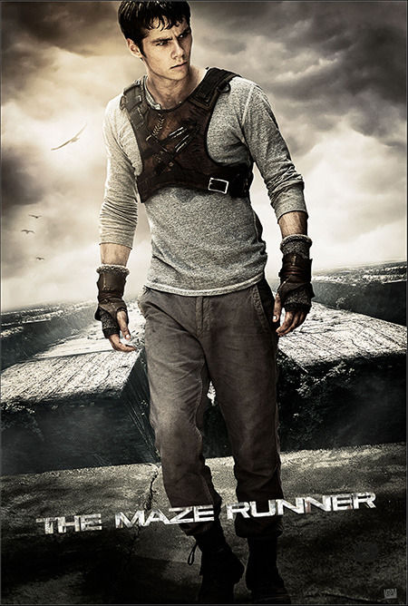 "Poster for ""The Maze Runner."" (Yahoo Movies Singapore)"