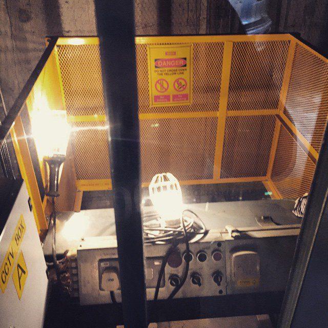 Inside a lift Continue Reading rarr