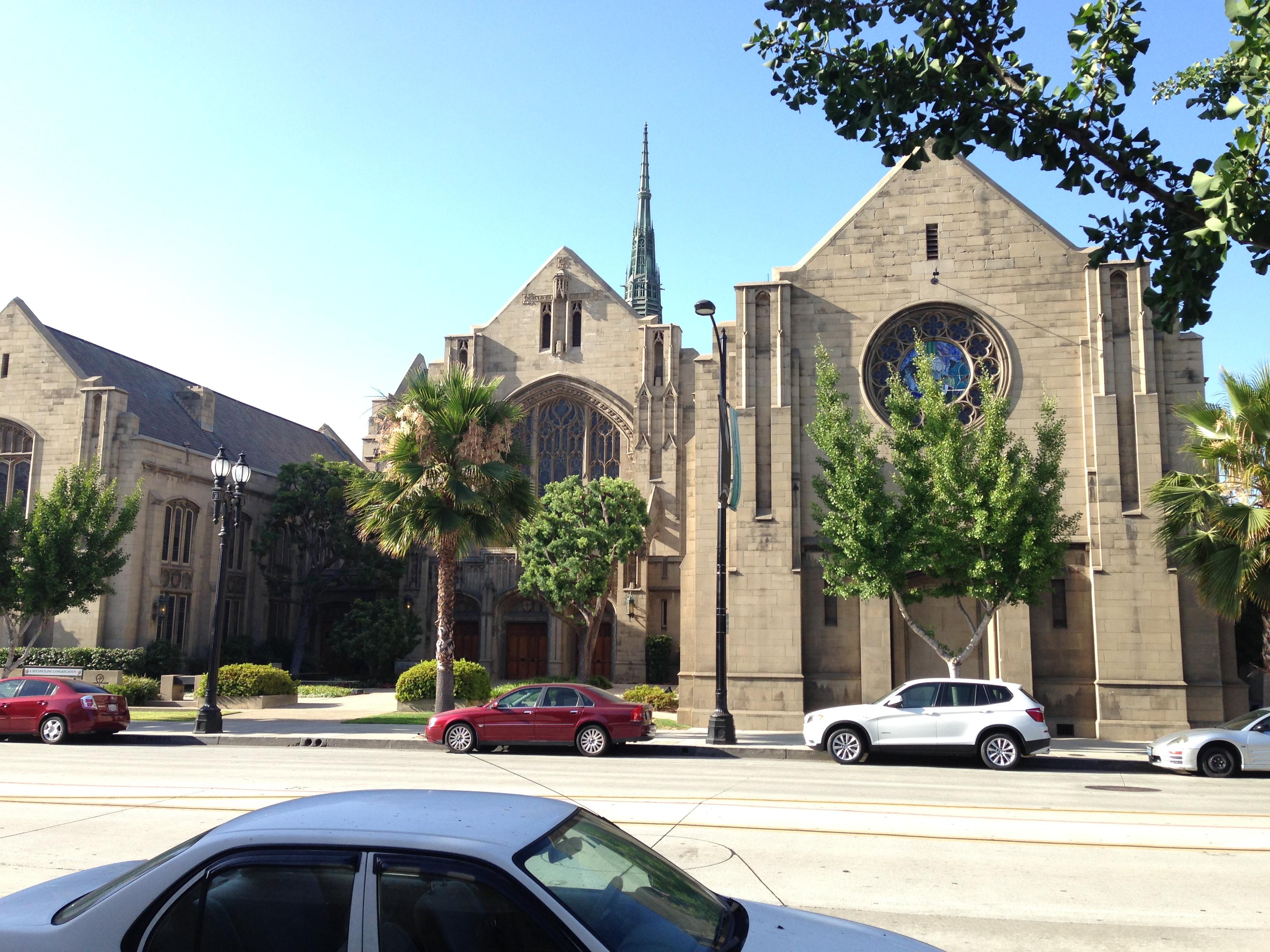 The church nearby. (Botcon Day 1)