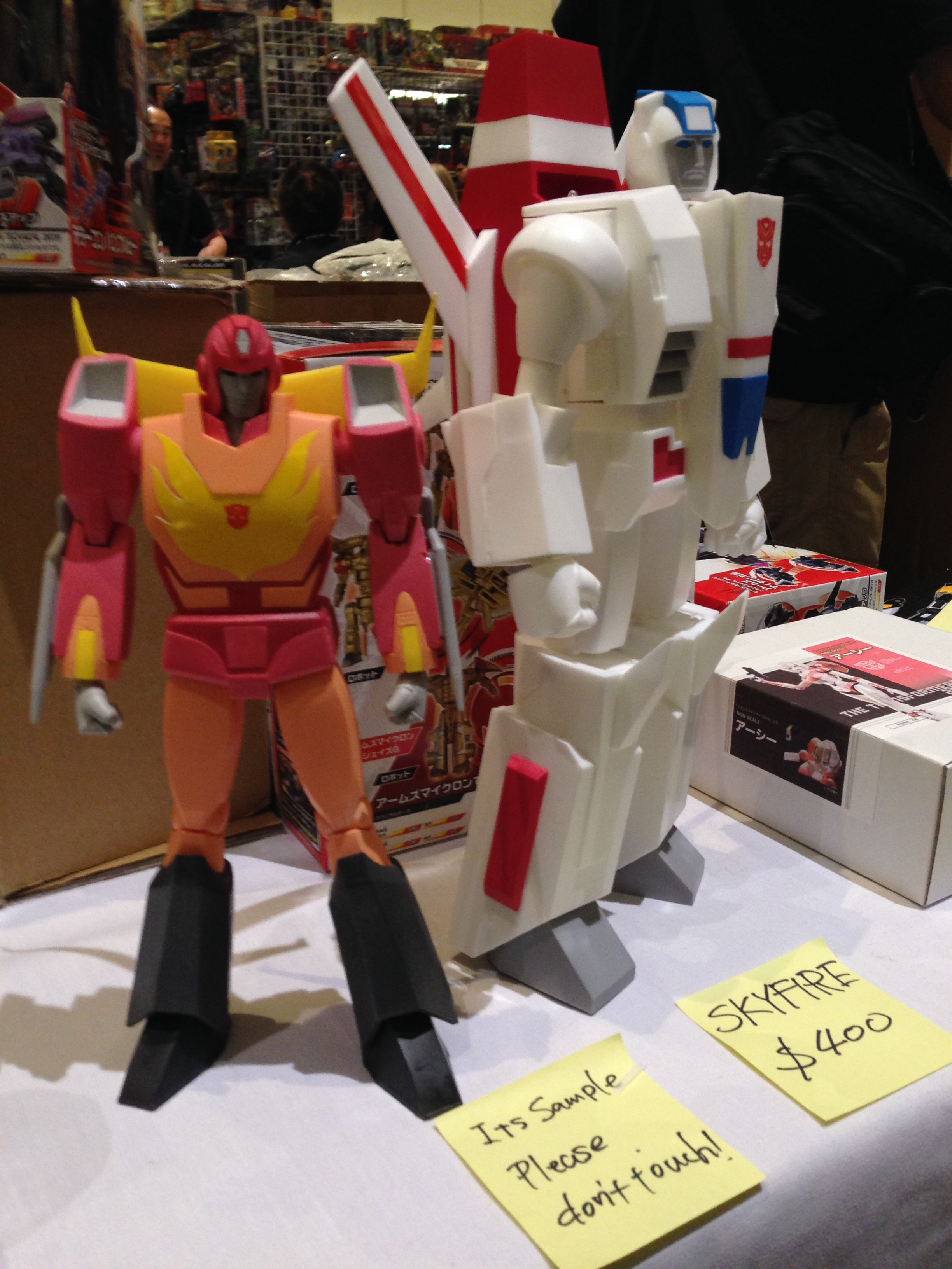 Busts. (Botcon Day 2)