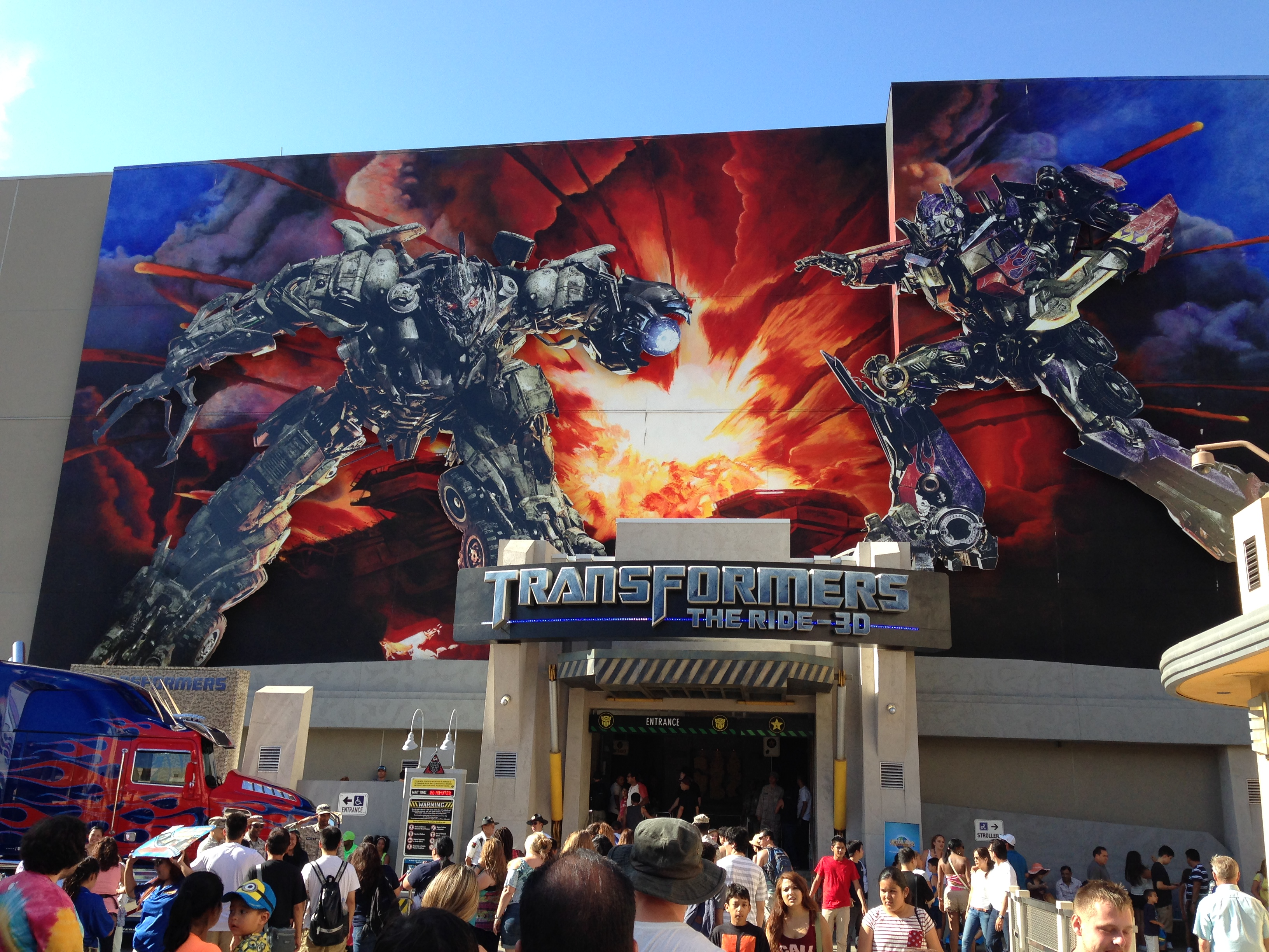 The Transformers Ride. (Botcon Day 2)
