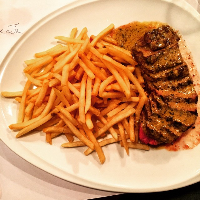 Steak and fries latergram Continue Reading rarr