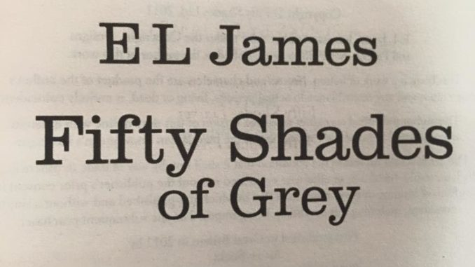 """Inside of """"Fifty Shades of Grey"""" by E.L. James (Book 1 of the """"Fifty Shades"""" trilogy)"""