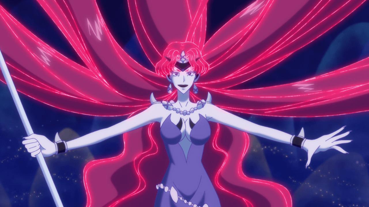 Queen Beryl Sailor Moon Crystal