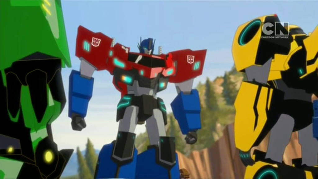 Optimus Prime! (Pilot (Part 2) - S01E02 of Transformers: Robots in Disguise)