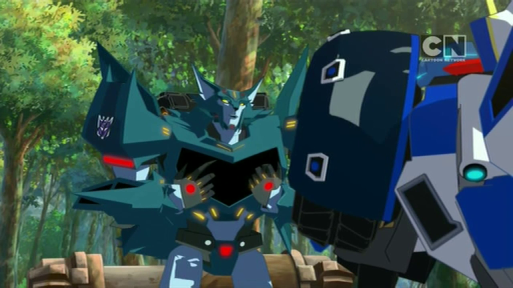 "Steeljaw pulls fast one. (""Trust Exercises"" - S01E03 of Transformers: Robots in Disguise)"
