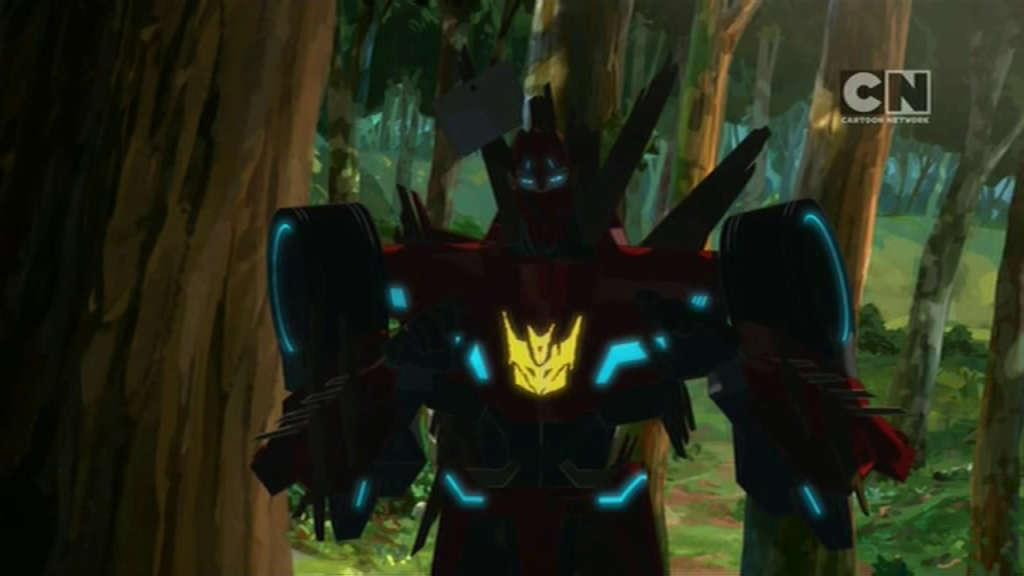 "Meet Grimbee! (""Trust Exercises"" - S01E03 of Transformers: Robots in Disguise)"