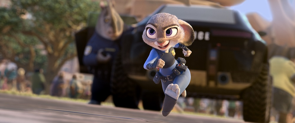 "Judy Hopps (Ginnifer Goodwin) believes anyone can be anything in ""Zootopia."" (©2015 Disney. All Rights Reserved.)"