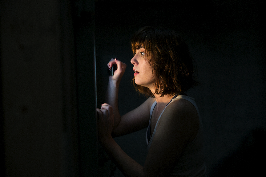 "A horrifying discovery in ""10 Cloverfield Lane."" (United International Pictures)"