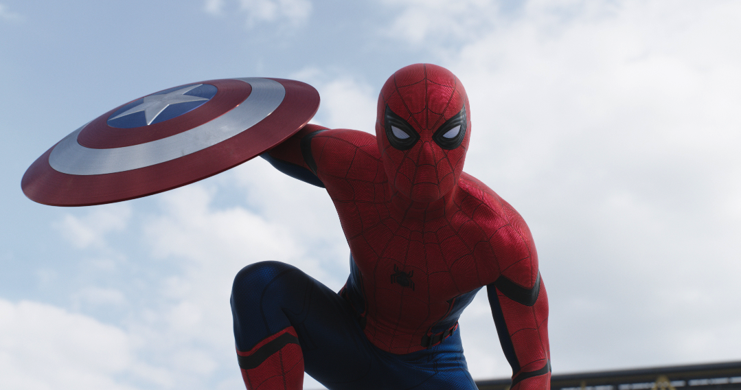 "Spider-Man (Tom Holland) makes his debut in ""Captain America: Civil War."" (Walt Disney Pictures)"
