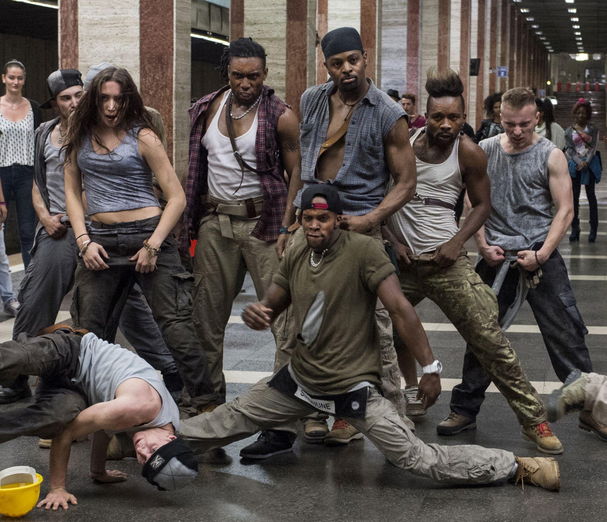 "A dance crew in ""High Strung."" (Shaw Organisation)"