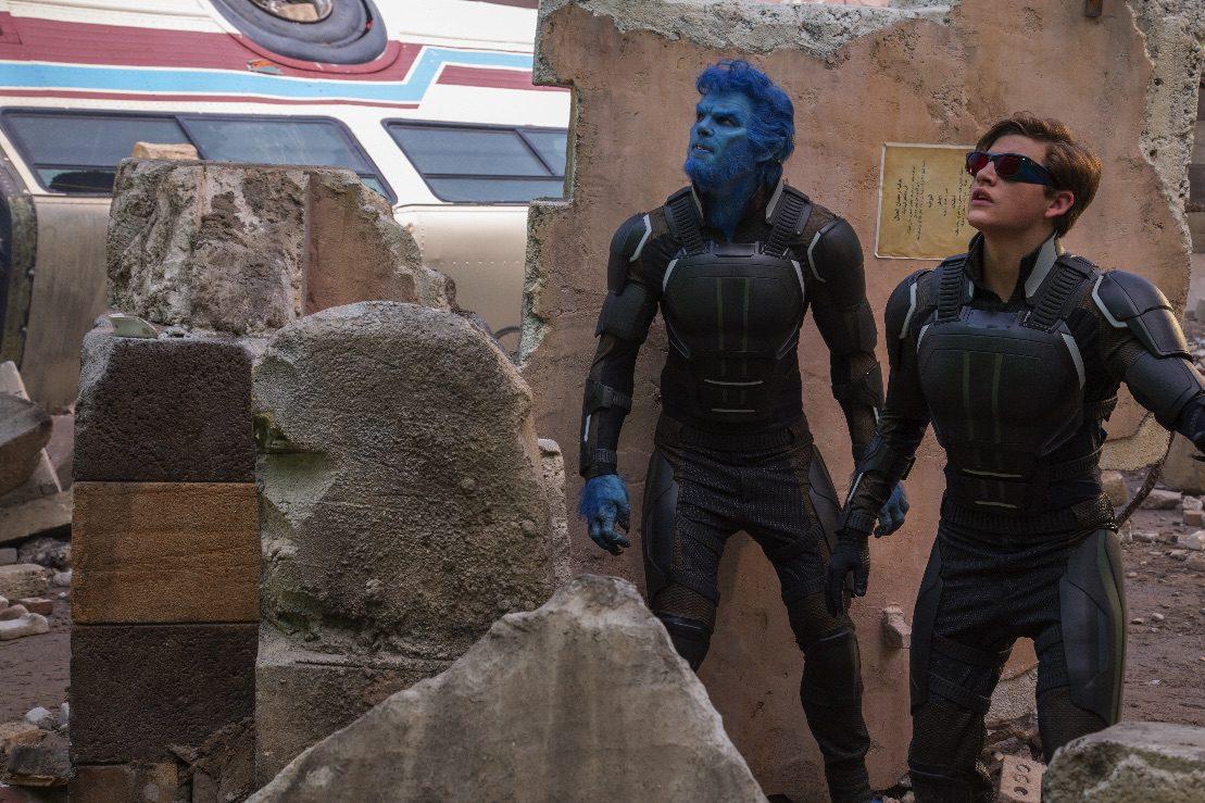"Beast (Nicholas Hoult) and Cyclops (Tye Sheridan) in ""X-Men: Apocalypse."" (Twentieth Century Fox)"
