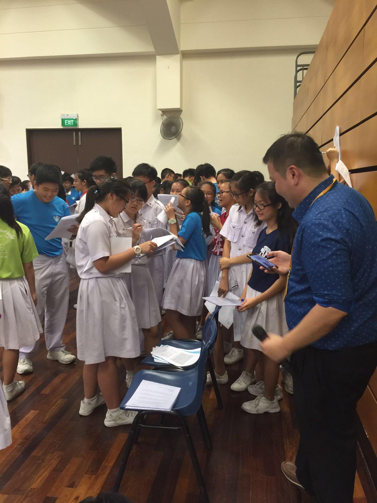 Students investigating a notorious YouTuber. (Chung Cheng High (Yishun))