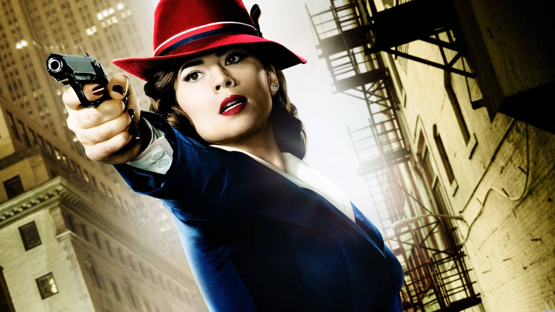 """Agent Carter in """"Agent Carter."""" (Comic Related)"""