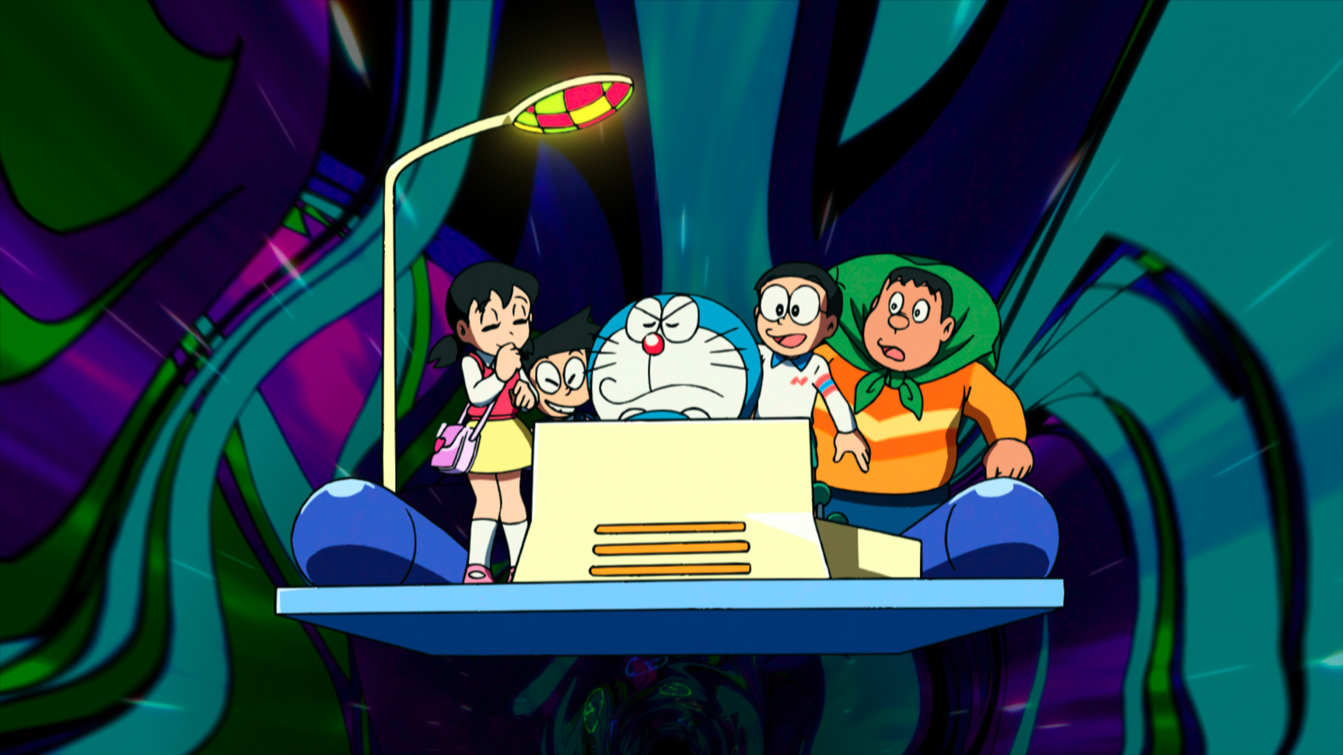 """Time travelling in """"Doraemon: Nobita and the Birth of Japan 2016."""" (Golden Village Pictures)"""