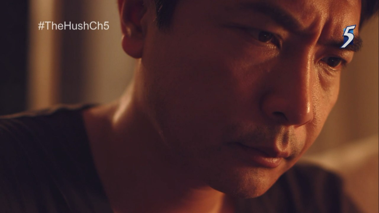 "Thoughtful Thomas in ""The Hush."" (Mediacorp Channel 5)"