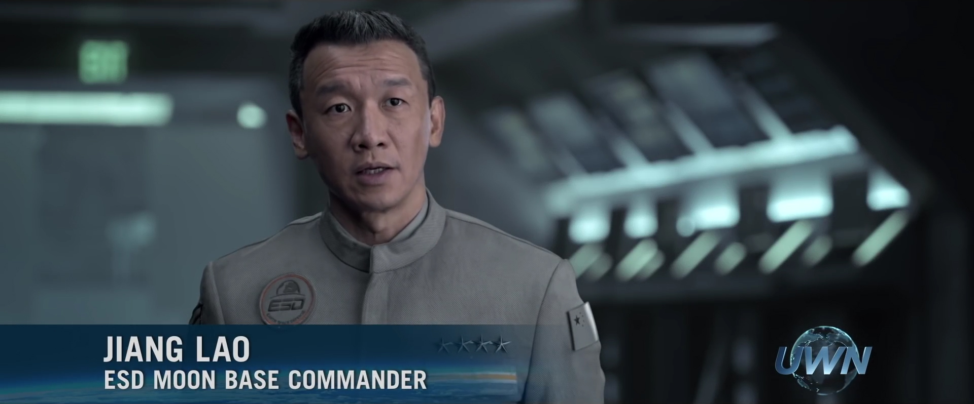 """Chin Han as Jiang Lao in """"Independence Day: Resurgence."""" (Independence Day Wiki)"""