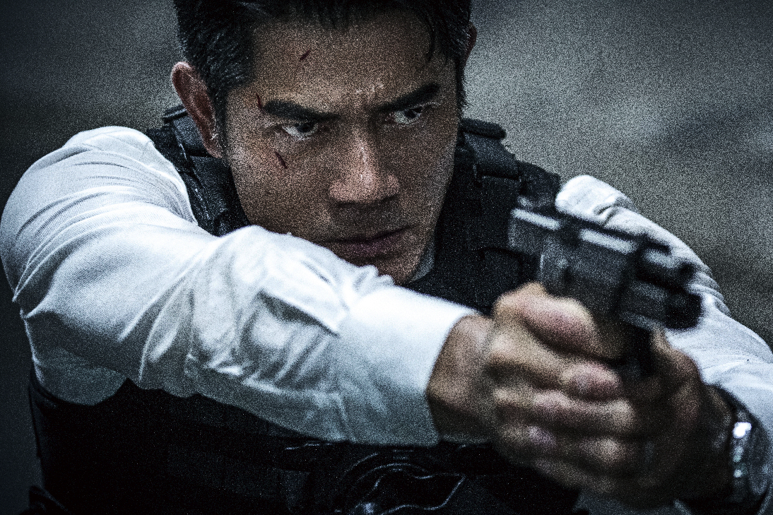 """Sean in action in """"Cold War 2 (寒战II)."""" (Encore Films)"""