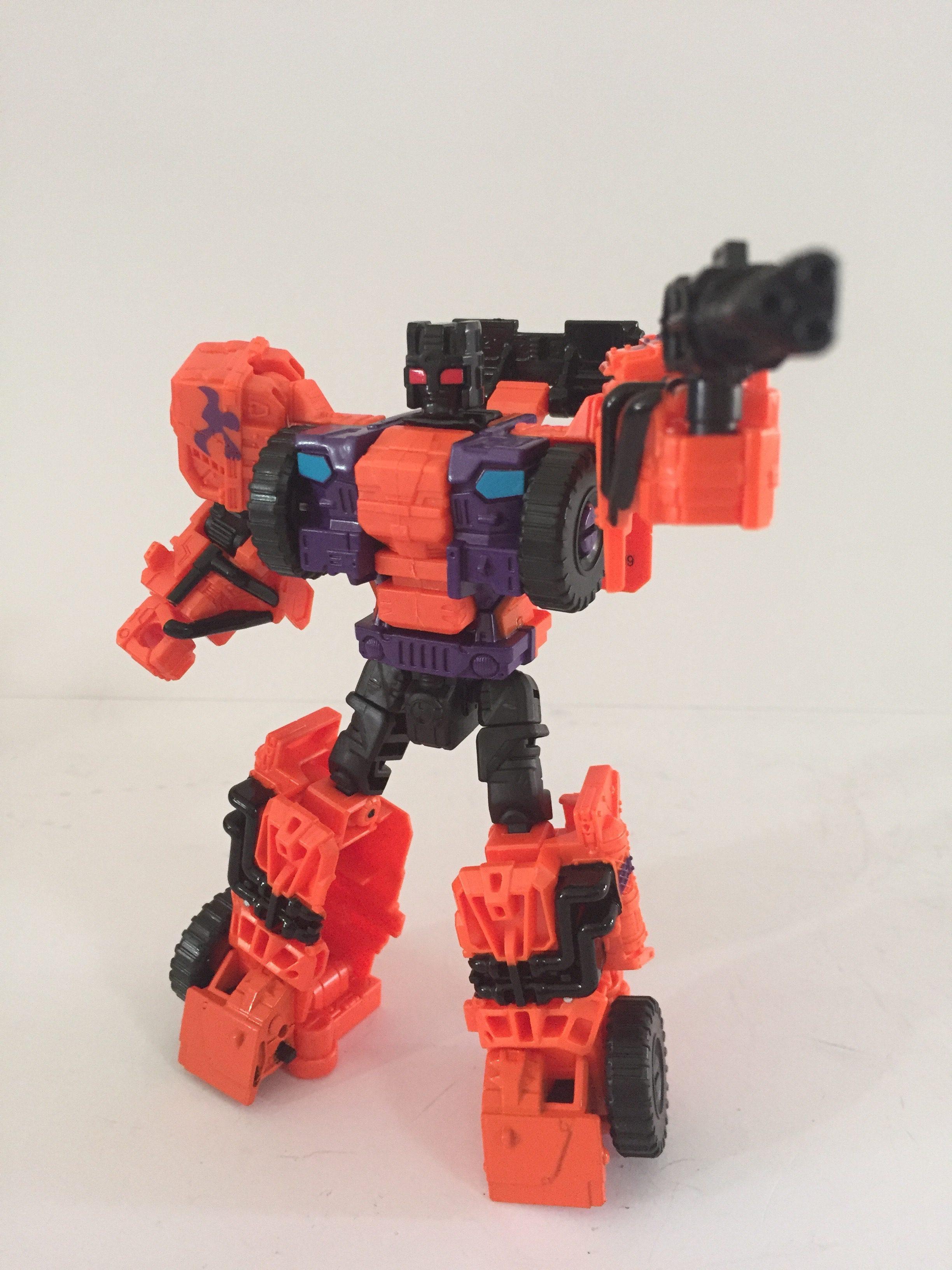Robot mode. (G2 Swindle)
