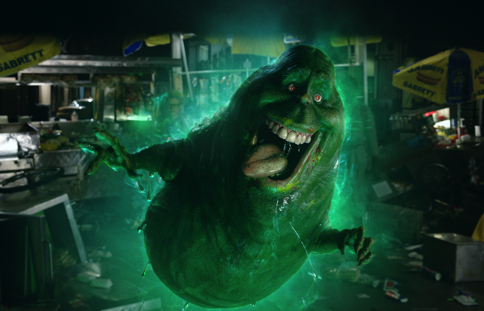 """Slimer in """"Ghostbusters."""" (Sony Pictures Singapore)"""