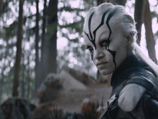 "The totally random Jaylah (Sofia Boutella) in ""Star Trek Beyond."" (United International Pictures)"