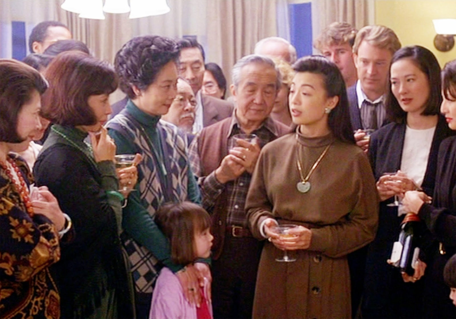 the joy luck club movie summary analyzing the opening scene of amy  movie review the joy luck club is the story of family first movie review the joy