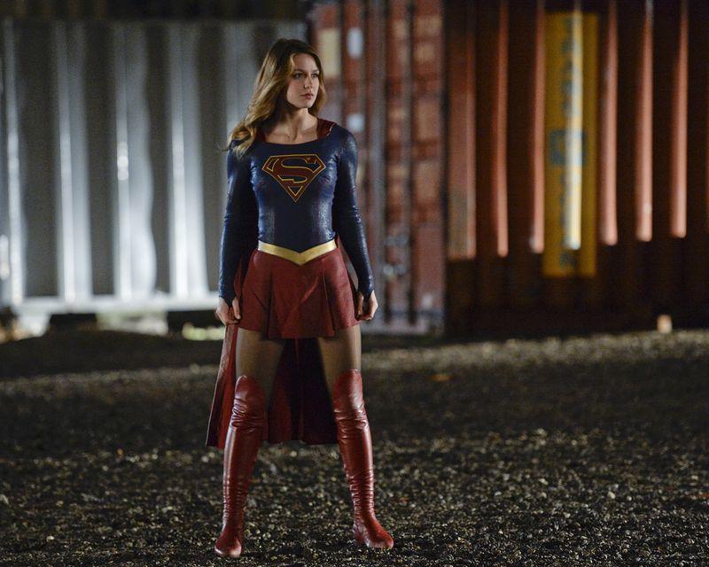 "Supergirl in ""Supergirl"" (Polygon)"
