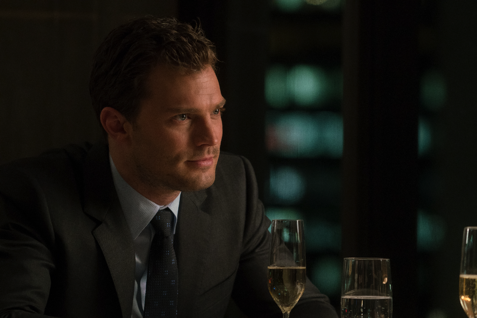 "Only one shade of Grey (Jamie Dornan) in ""Fifty Shades Darker"". (United International Pictures)"