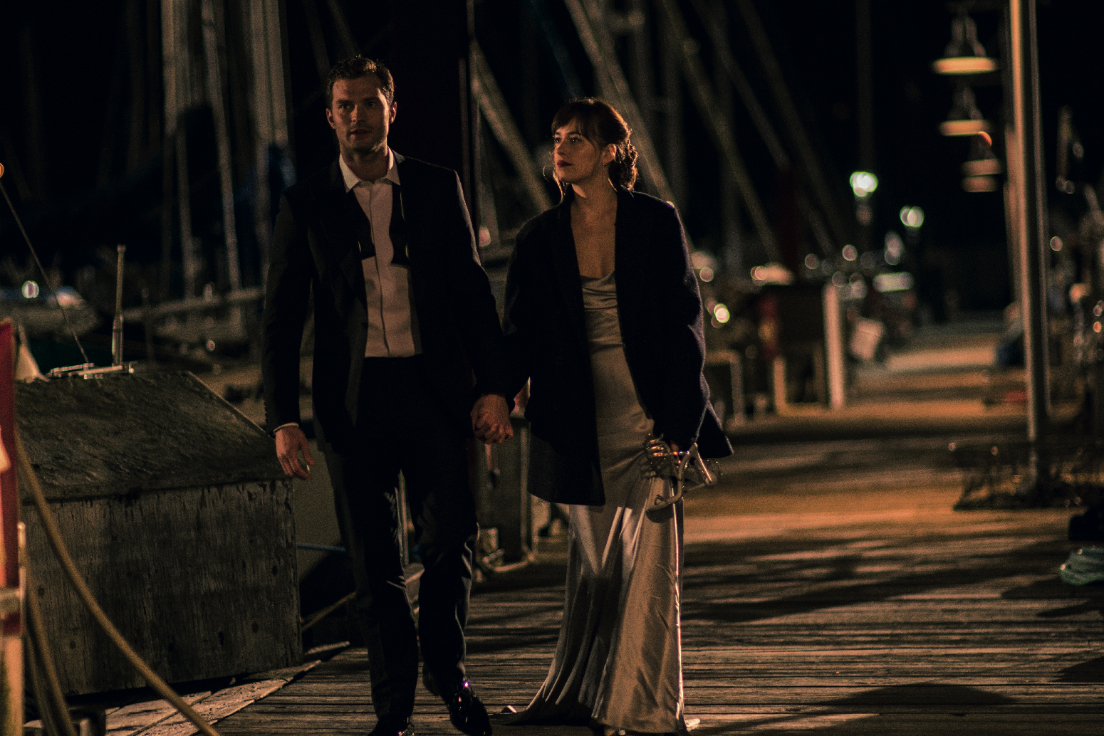 "Ana (Dakota Johnson) and Christian (Jamie Dornan) in ""Fifty Shades Darker"". (United International Pictures)"