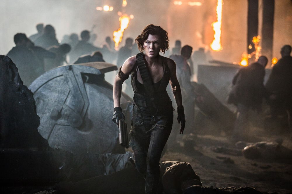 Resident Evil The Final Chapter Movie Clip Alice Awakes: [Movie Review] 'Resident Evil: The Final Chapter' Gives