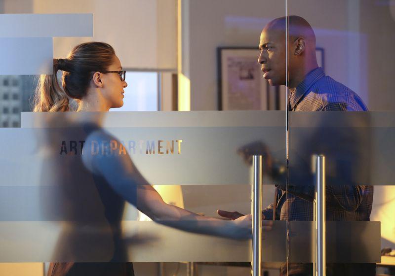 "Kara and James in ""Supergirl"" (Polygon)"