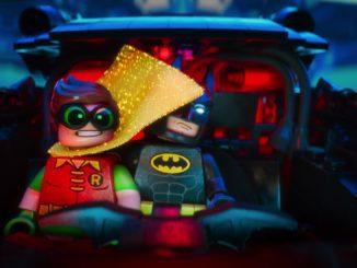 Batman (Will Arnett) and Robin (Michael Cera) in The Lego Batman Movie. (Warner Bros Pictures)