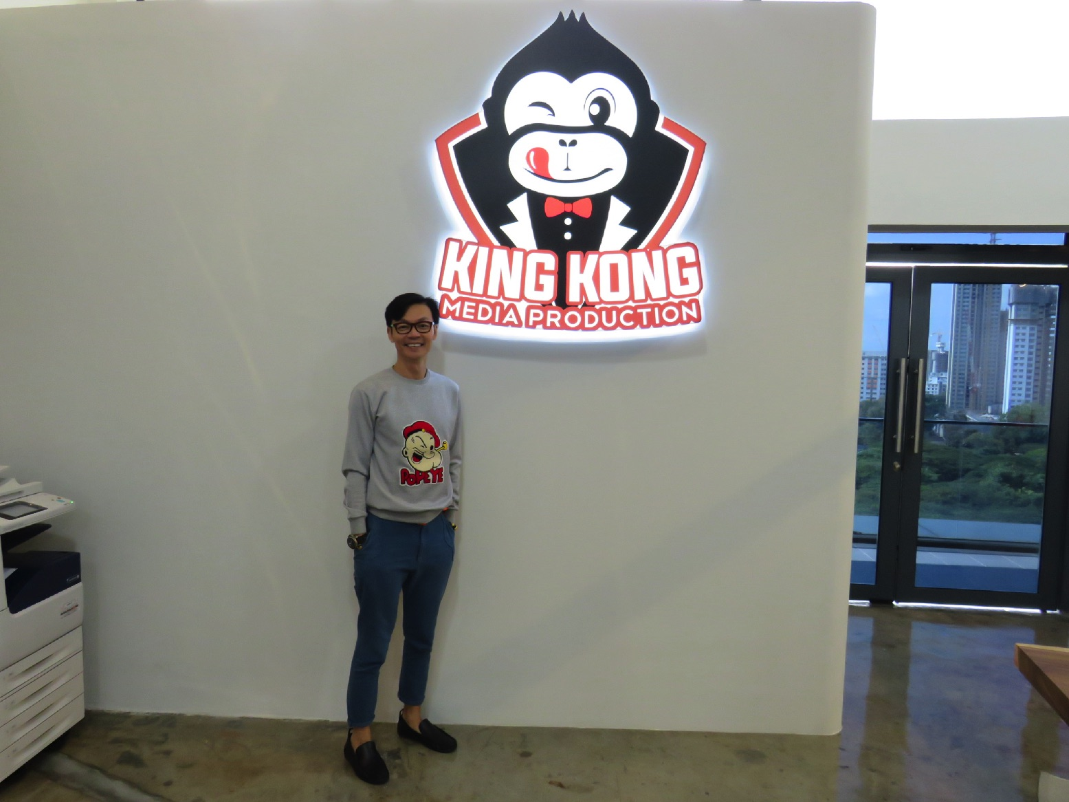 Movies mark lee from production assistant to film - King kong design ...