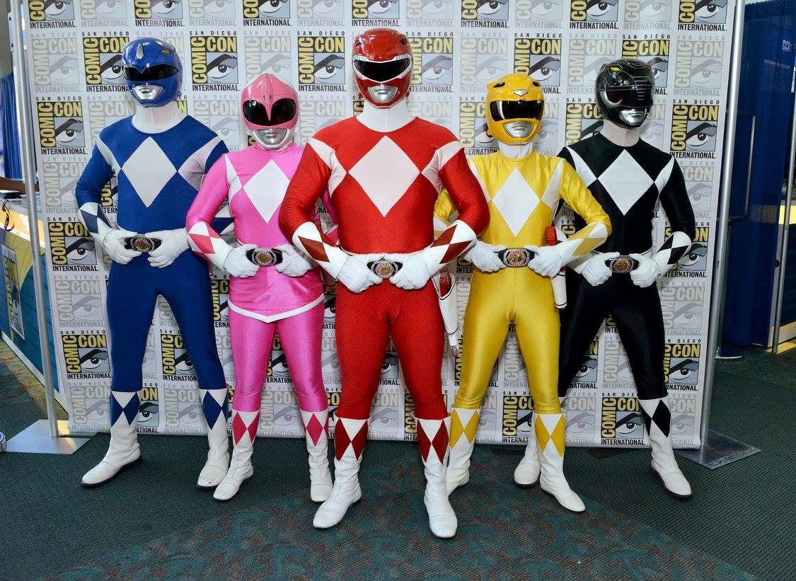 Power Rangers at SDCC 2016. (Power Rangers Facebook Page)