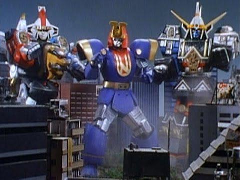 Ninja Megazord, Ninjor, and Shogun Megazord. (Miscrave)