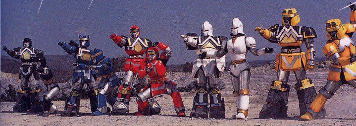 Shogunzord and Battleborgs. (Alien Ranger Pictures)