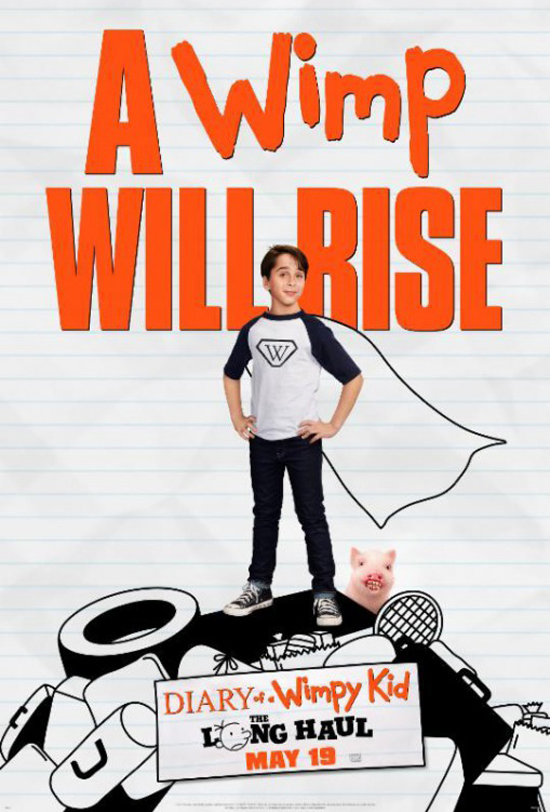 Diary of a Wimpy Kid: A Wimp Will Rise