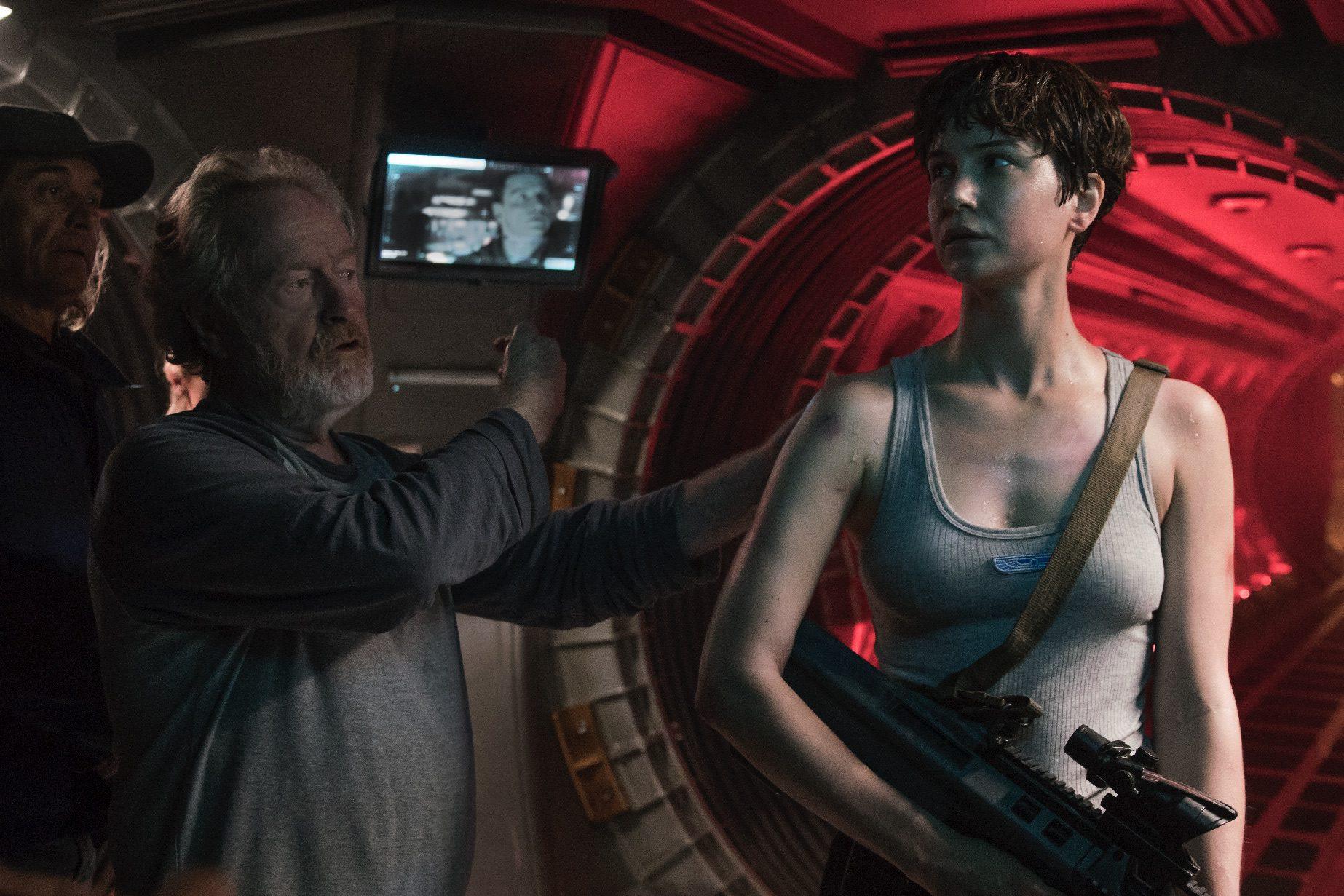 "Ridley Scott directs and Katherine Waterston stars in ""Alien: Covenant"". (Twentieth Century Fox)"