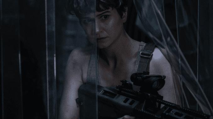 "Daniels (Katherine Waterston) in ""Alien: Covenant"". (Twentieth Century Fox)"