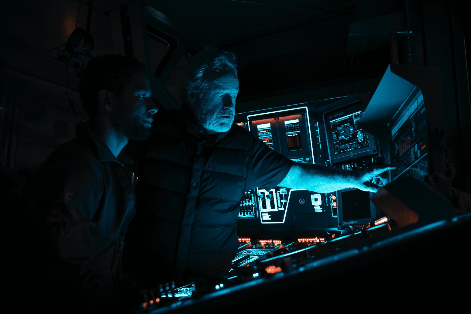 "Ridley Scott directs ""Alien: Covenant"". (Twentieth Century Fox)"