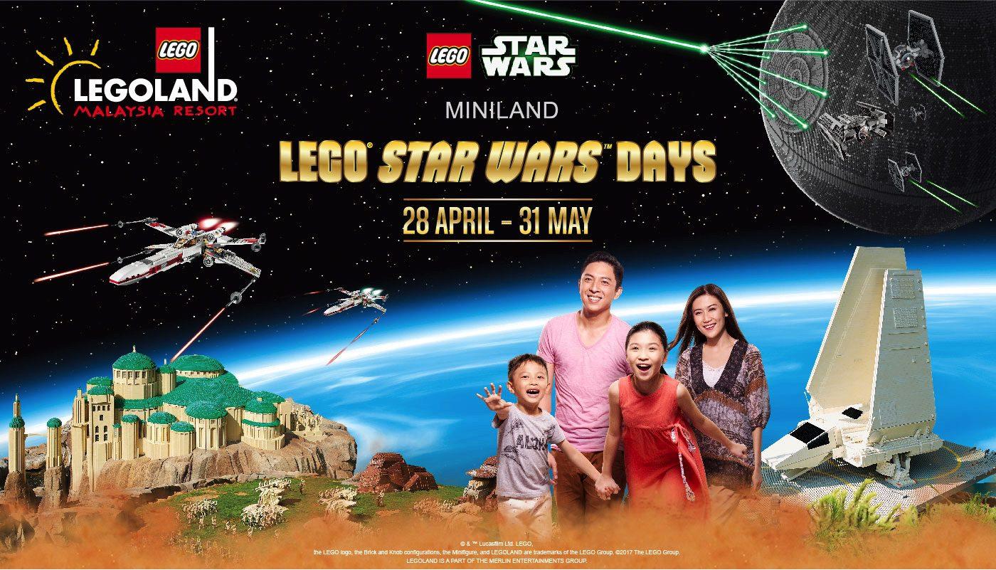 Lego Star Wars Days. (Legoland Malaysia Resort)