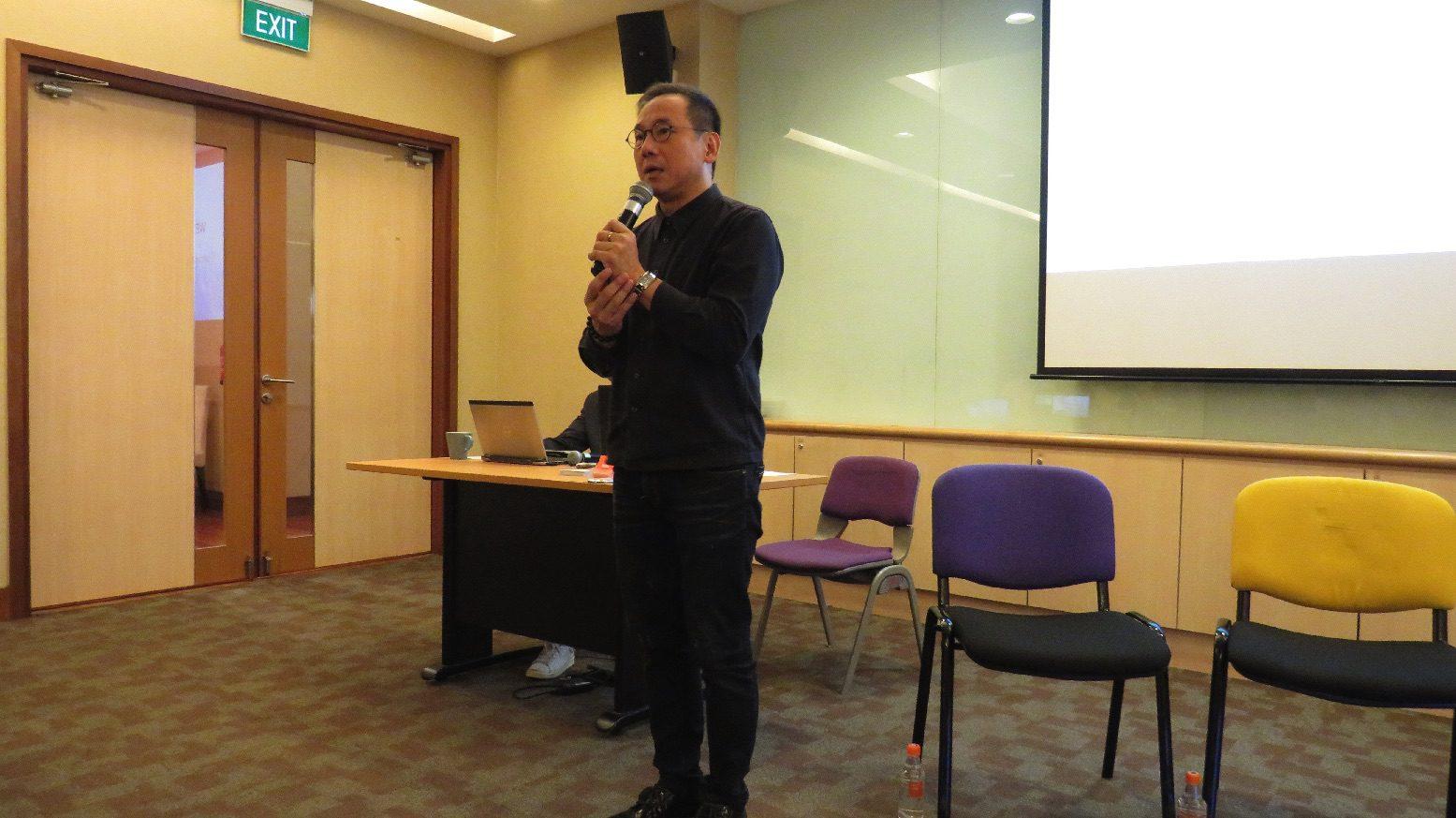 Daniel Yun, founder of Blue3 Asia.