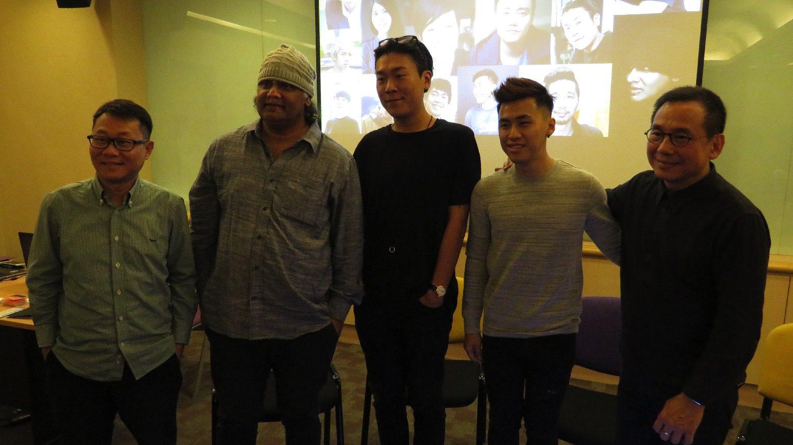 Kelvin Tong, K. Rajagopal, Sean Ng, Chong Yu Lun, Daniel Yun.