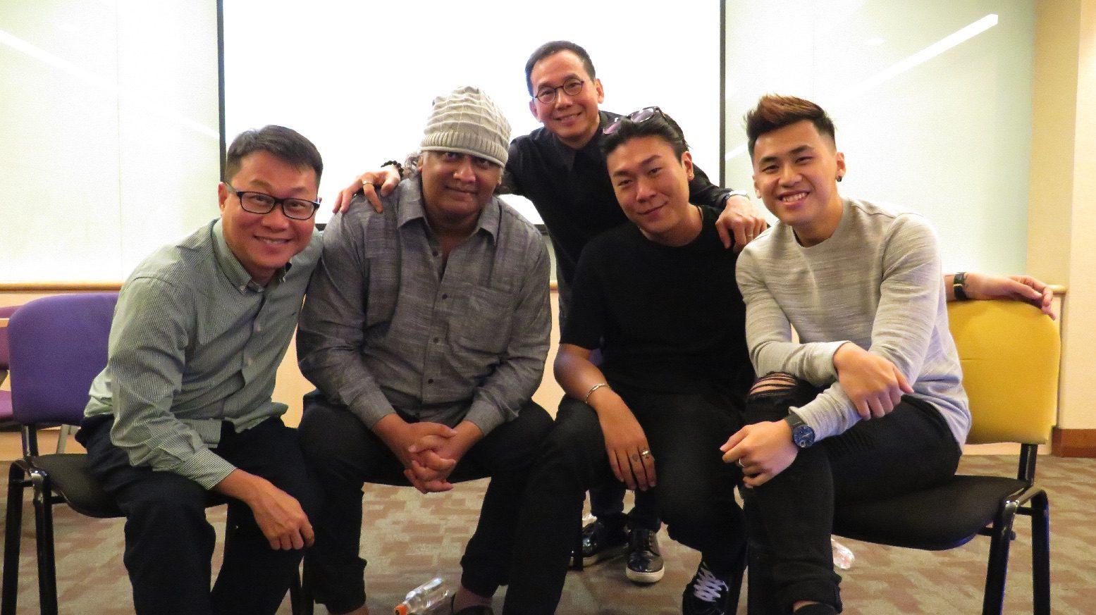 Kelvin Tong, K. Rajagopal, Daniel Yun, Sean Ng, Chong Yu Lun.