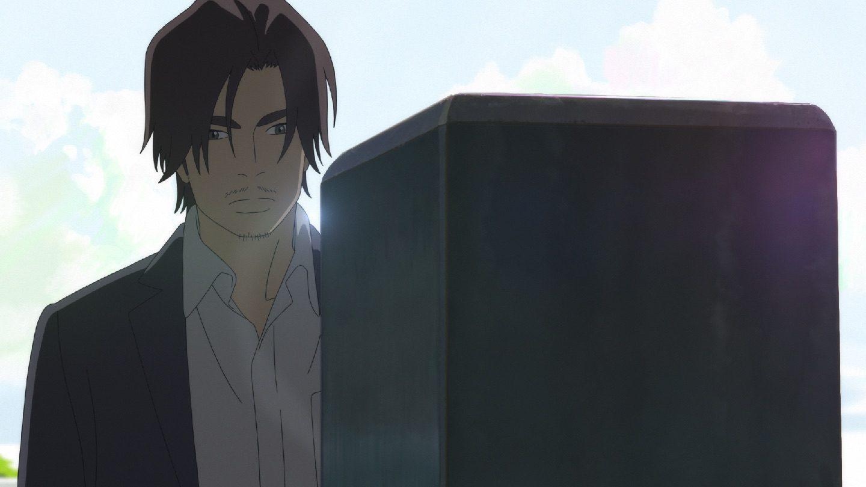 "Momotarō Morikawa (Yōsuke Eguchi) in ""Napping Princess"". (Purple Plan)"