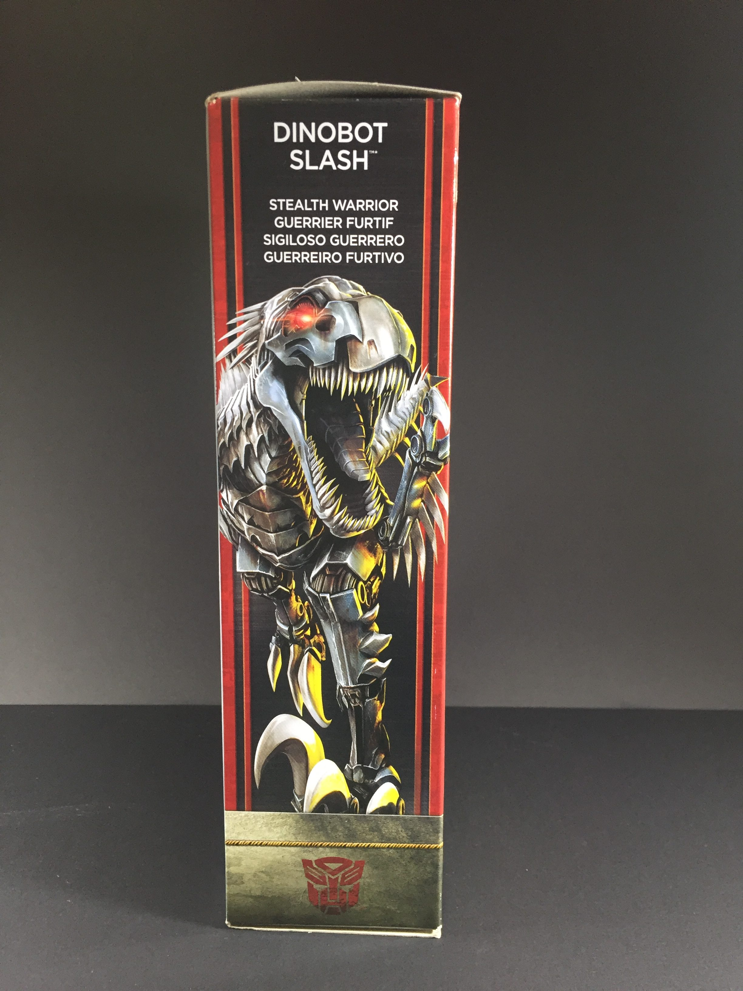 Slash, packaging. (Transformers: The Last Knight)