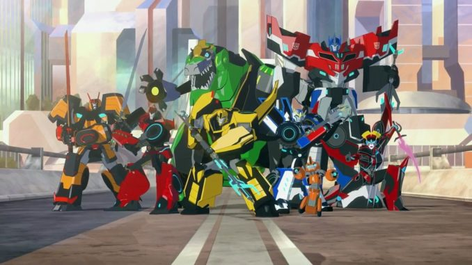 Autobots in Transformers: Robots in Disguise Season 2. (Dailymotion)
