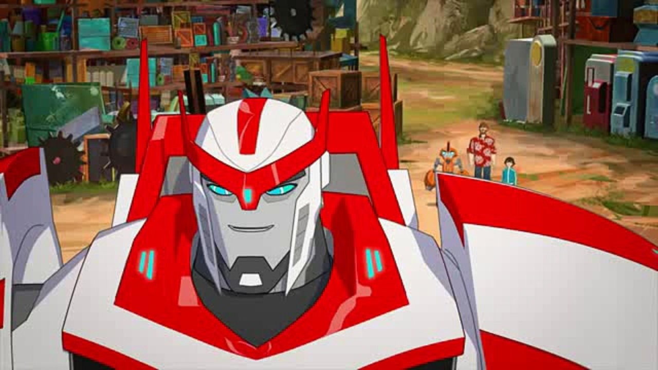 Ratchet in Transformers: Robots in Disguise Season 2. (Dailymotion)