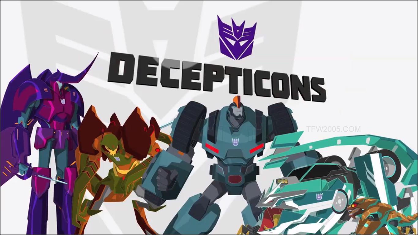 Decepticons rise up in Transformers: Robots in Disguise Season 2. (TFW2005)
